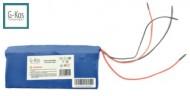 Pacco Batterie al LITIO 24v 10.4 Ah Samsung Slim per e-Bike