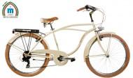 Bici 26 Pollici CRUISER Telaio Uomo in Acciaio con Cambio Shimano Modello ISLAND
