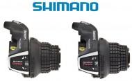 Comando Cambio Marce Bici Grip SHIMANO Posteriore 6 o 7 Velocità a scatto