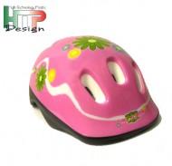 Casco Bici Bimba da 5 a 9 anni Taglia 52-56 cm Colore Rosa