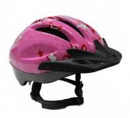 Casco Bici Bimba Ragazze da 10 a 13 anni Taglia 54-56 cm Colore Rosa