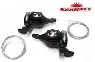 Comandi Cambio Marce Bici Stef Sunrace M50 3x7 Velocità