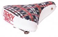 Sella Bici Classica TRENDY Scozzese Scottish Style