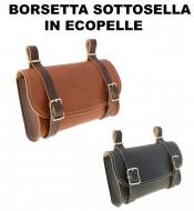 Borsetta Sottosella Bici Stile Vintage in Ecopelle