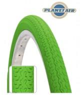 Copertone Gomma Bici 26 Pollici Misura 26x1.3/8 o 35-590 Colore Verde