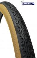 Copertone Gomma Bici 26 Pollici Misura 26x1.1/2x1.5/8 - 650 1/2 B o 44-584 Semi-Confort Michelin Colore Para/Nero