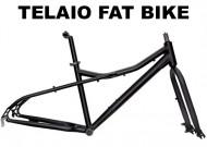 Telaio Bici Completo FAT BIKE 26 Pollici in Alluminio