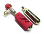 Set Dosatore con bombolette Ricambio Aria Compressa CO2 per Bici Corsa MTB