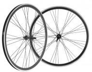 Ruote Bici Trekking 28 Pollici Cerchio a Profilo 30 mm a Filetto 7/8 Velocità