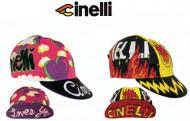 Cappellino Ciclista Bici Corsa Cinelli Heart - Fire