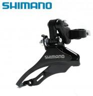 Deragliatore Cambio Marce Anteriore Bici Shimano TZ 30