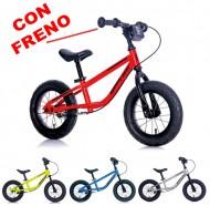 Bici Pedagogica a Spinta Senza Pedali Bimbo 2 a 6 anni in Acciaio SPEED RACER