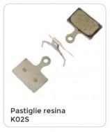 Pastiglie Freno Bici a Disco SHIMANO Resina Modello K02S