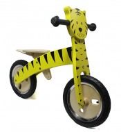 Bici Pedagogica a Spinta Senza Pedali Bimbo da 2 a 5 anni in Legno TIGRE