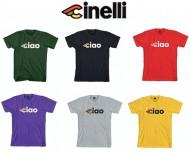 Maglietta T-Shirt Bici Ciclista Riders Cinelli CIAO