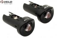 Luci Estremità Manubrio Bici Corsa o Tappi Manubrio Luminosi LED
