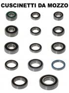 Cuscinetto Bici per Mozzo Ruota diametro 6.5 mm, 7 mm, 8 mm
