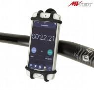 Portacellulare Smartphone Manubrio Bici in Silicone Gomma