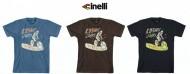 Maglietta T-Shirt Bici Ciclista Riders Cinelli COSMIC RIDERS