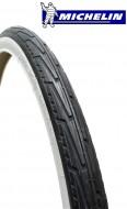 Copertone Gomma Bici Misura 500 A o 37-440 Michelin Confort Colore Bianco/Nero
