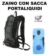 Zaino Bici con Sacca Interna Portaliquidi e Boccaglio