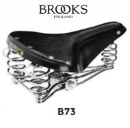 Sella Bici Brooks in Cuoio Modello B73 Colore Nero