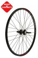 Ruote Bici Mountain Bike, MTB 26x1.50/2.125 Cerchio Profilo Alto 20 mm Colore Nero per Freno a Disco 8/9/10 Velocità a Cassetta