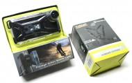 Cover Impermeabile iPhone 5 con Supporto per Manubrio Bici + Bretella Torace