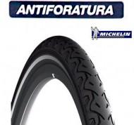 Copertone Gomma Bici 26 Pollici Misura 26x1.3/8 o 35/37-590 Antiforatura Michelin City Protek