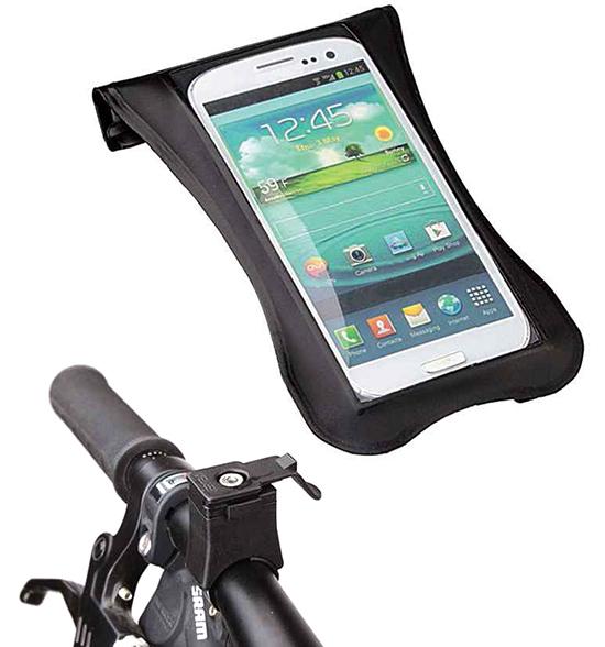 Custodia porta smartphone impermeabile con supporto per - Porta bici smart ...