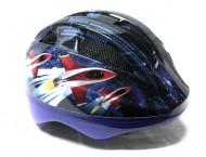 Casco Bici Bimbo da 2 a 5 Anni Taglia 52-56 cm Colore Blu