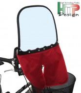 Parabrezza Bici Protezione Bimbo con TELA