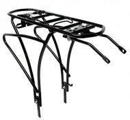 Portapacco Posteriore Bici 26 o 28 Pollici in Alluminio Altezza Regolabile