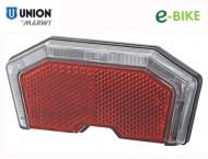 Fanale e-Bike Posteriore al Portapacco LED Rosso Attacco Faston