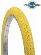 Copertone Gomma Bici 20 Pollici Misura 20x1.75 o 47-406 Colore Giallo