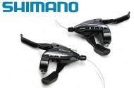 Comandi Cambio Shimano con Leve Freno Bici Integrate 3x8 Velocità