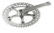 Guarnitura Bici Corsa Vintage Forata Doppia Corona 36/48 Denti