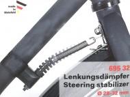 Bloccaggio a Molla Antirotazione Manubrio Bici