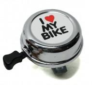 Campanello Bici Ciclo I love my Bike