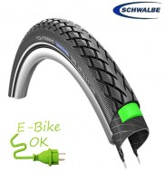 Copertone Gomma Bici 27 Pollici Misura 27x1.65 per Bici Mountain Bike o Elettrica e-Bike Rinforzato Schwalbe Marathon