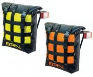 Borsa Singola Bici al Portapacco Posteriore Alta Visibilità Riflettente CUBY BAG