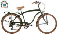 Bici 26 Pollici CRUISER Telaio Uomo in Acciaio con Cambio Shimano Modello BEACH