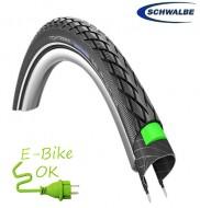 Copertone Gomma Bici 28 Pollici Misura 28x5/8x1/8 o 700x23/32 o 23/32-622 per Bici Sportiva o Elettrica e-Bike Rinforzato Schwalbe Marathon