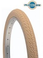 Copertone Gomma Bici 20 Pollici Misura 20x1.75 o 47-406 Colore Beige Crema