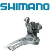 Deragliatore Cambio Marce Anteriore Bici SHIMANO 105 10 Velocità a Saldare