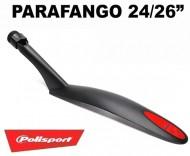 Parafango Bici 24/26 Pollici Mountain Bike MTB Posteriore a Sbalzo Fissaggio Rapido al Reggisella