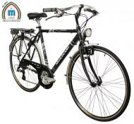 Bici 28 Pollici Telaio Uomo Alluminio con Cambio Shimano 21 Velocità Modello GRANTURISMO