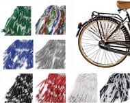 Retina Parafango Posteriore Bici Vintage Protezione Salvagonna Paraveste in Elastico