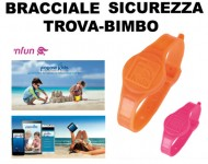 Bracciale Sicurezza Trova Bimbo Anti-Allontanamento FOLLOW KIDS