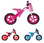Bici Pedagogica a Spinta Senza Pedali Bimbo Bimba da 2 a 5 anni in Legno